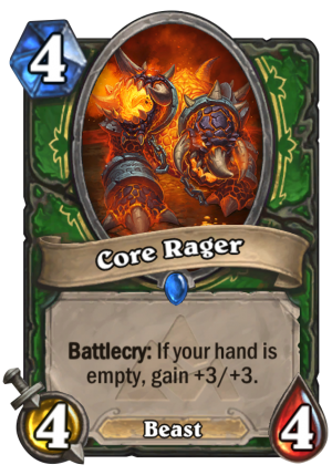 Core Rager Card