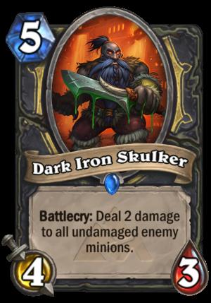 Dark Iron Skulker Card