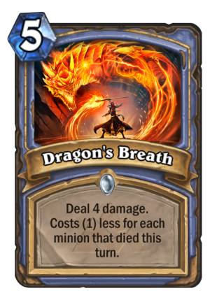 Dragon's Breath Card
