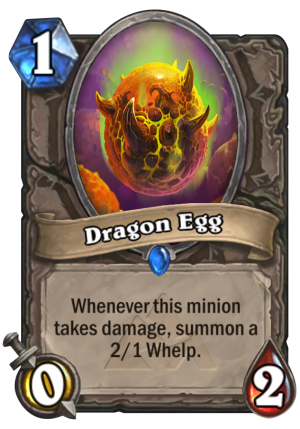 Dragon Egg Card