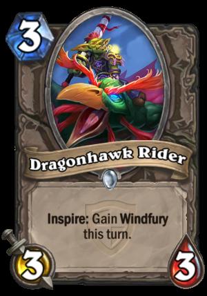 Dragonhawk Rider Card