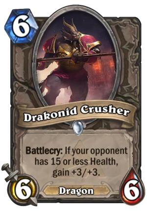 Drakonid Crusher Card