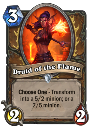 Druid of the Flame Card