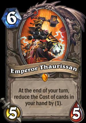 Emperor Thaurissan Card