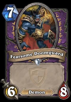 Fearsome Doomguard Card