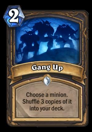 Gang Up Card