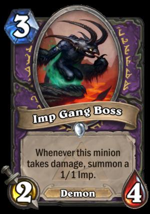 Imp Gang Boss Card
