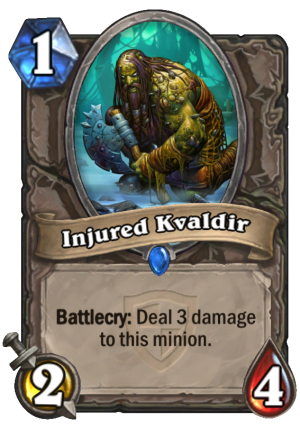 Injured Kvaldir Card