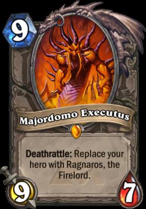 Majordomo Executus Card