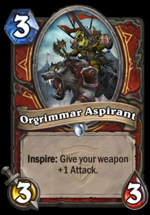 Orgrimmar Aspirant Card
