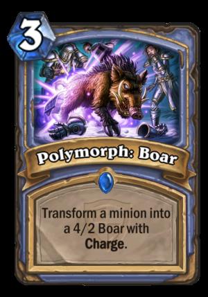 Polymorph: Boar Card