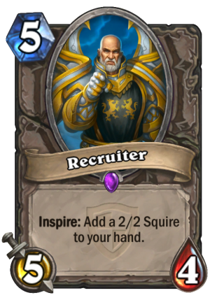 Recruiter Card