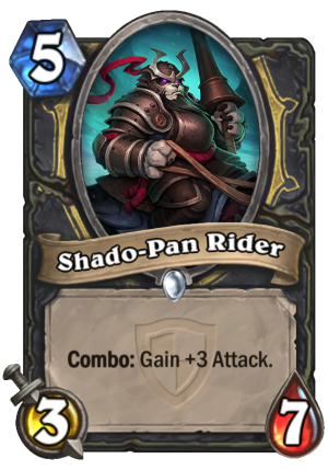 Shado-Pan Rider Card