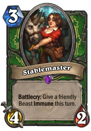 Stablemaster Card