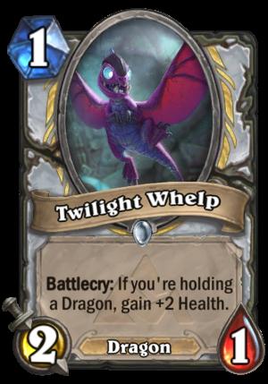 Twilight Whelp Card
