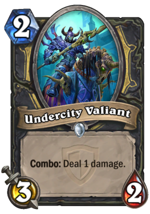 Undercity Valiant Card