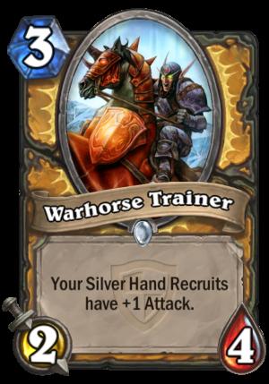 Warhorse Trainer Card