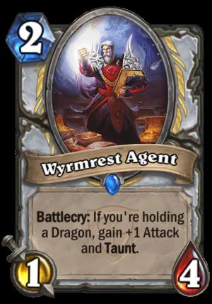 Wyrmrest Agent Card