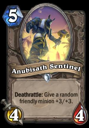 Anubisath Sentinel Card