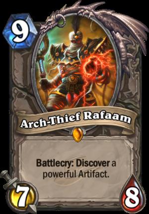 Arch-Thief Rafaam Card