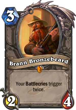Brann Bronzebeard Card