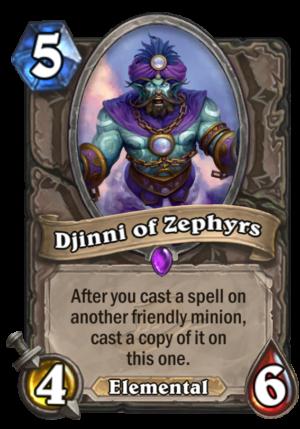 Djinni of Zephyrs Card