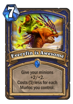 Everyfin is Awesome Card