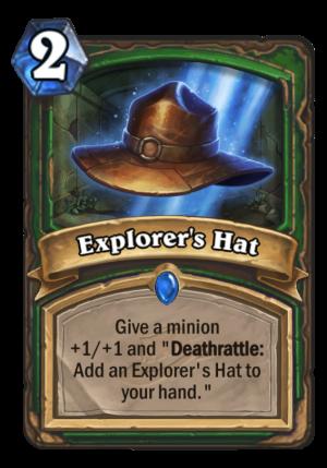 Explorer's Hat Card