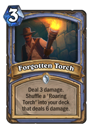 Forgotten Torch Card