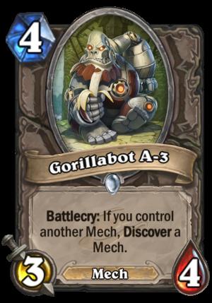 Gorillabot A-3 Card