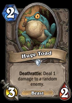 Huge Toad Card