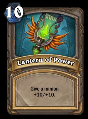 Lantern of Power Card