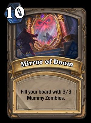 Mirror of Doom Card