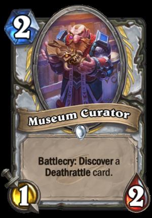 Museum Curator Card