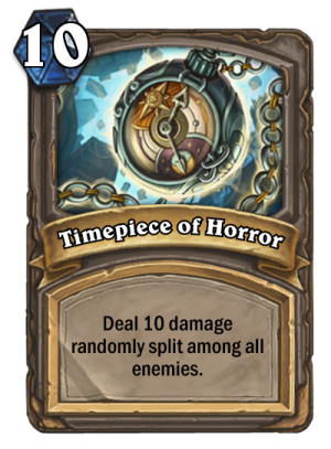 Timepiece of Horror Card