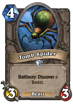 Tomb Spider Card
