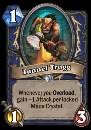 Tunnel Trogg Card