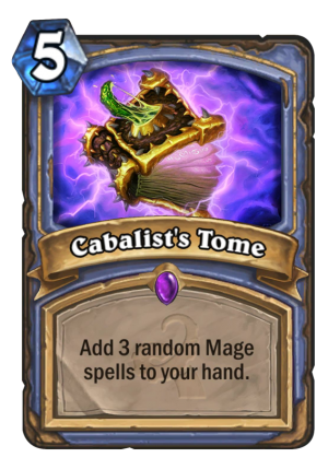 Cabalist's Tome Card