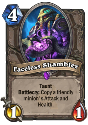 Faceless Shambler Card