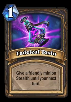 Fadeleaf Toxin Card
