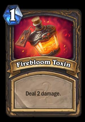 Firebloom Toxin Card