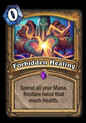 Forbidden Healing Card