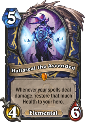 Hallazeal the Ascended Card