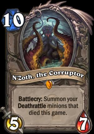 N'Zoth, The Corruptor Card
