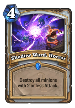 Shadow Word: Horror Card