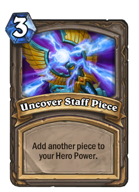 Uncover Staff Piece Card