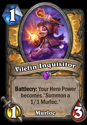 Vilefin Inquisitor Card
