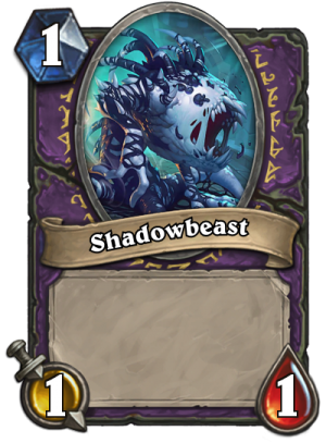 Shadowbeast Card
