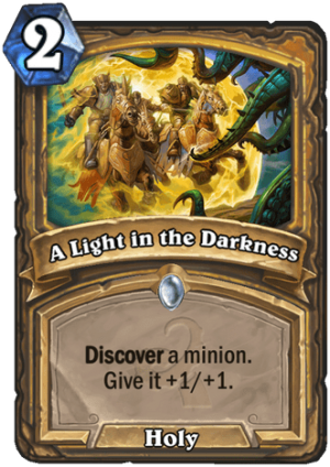 A Light in the Darkness Card