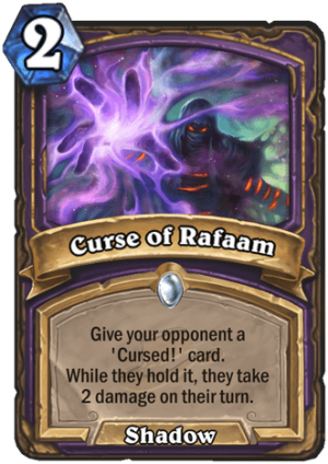 Curse of Rafaam Card